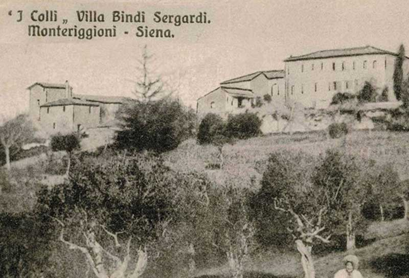 1349 - Fotografia antica di Tenuta i Colli